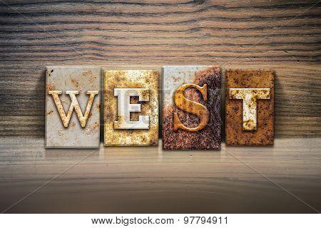 West Concept Letterpress Theme