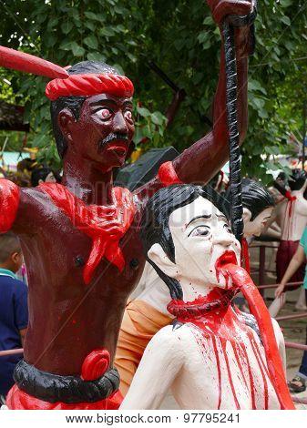 Tortured Man Statue