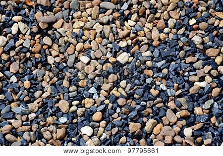 wheat and blue stone background (texture)