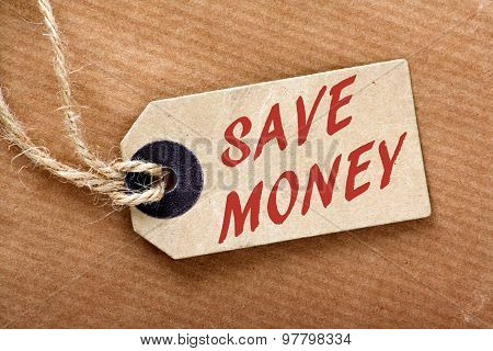Save Money Price Tag