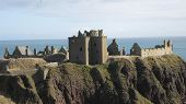 stock photo of braveheart  - Dunnottar Castle - JPG