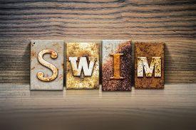 picture of swim meet  - The word  - JPG