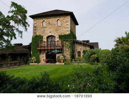 Castle in Napa Valley
