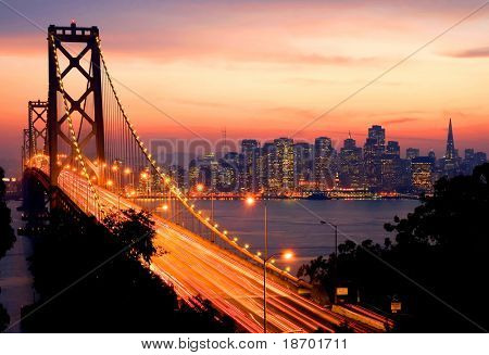 San Francisco-Sunset
