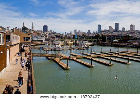 Fisherman's Wharf in San Francisco, California