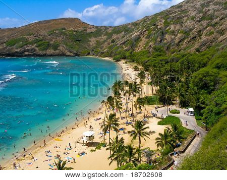 Hanauma Bay en Hawaii