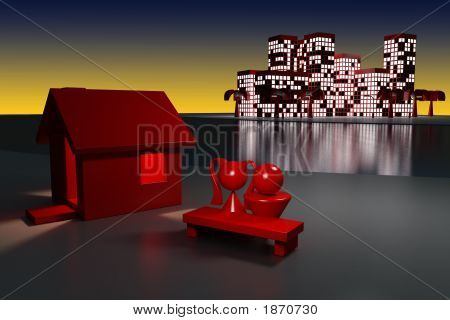 House And Megapolis