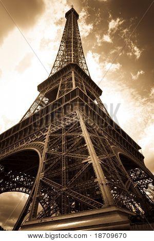 Vintage Torre Eiffel