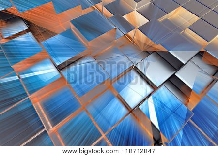abstract 3d structure