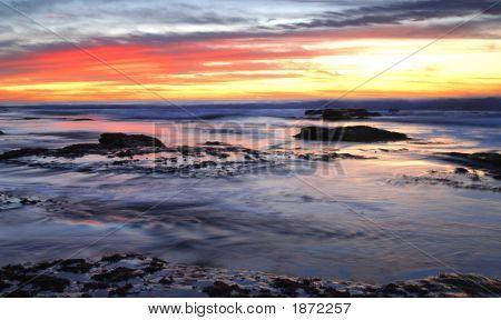 Crop Sunset Blur Water