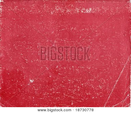 Old red book cover