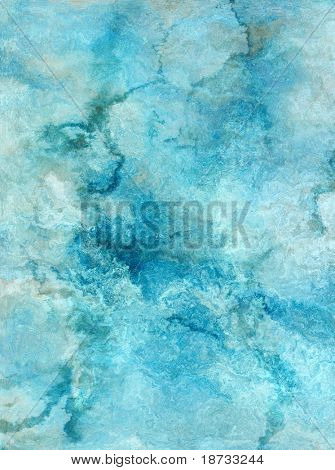 Highly detailed grunge blue stone texture with space for your text or image.
