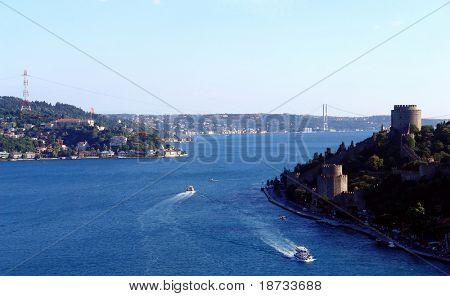 Istanbul bosphorus strait - Turkey