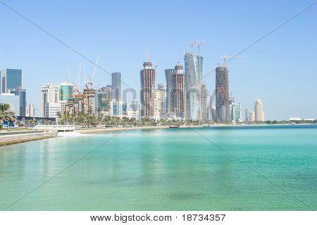 Doha - The capital city of Qatar