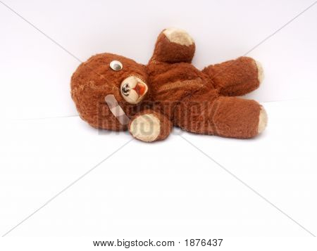 Beloved Old Teddy Bear, Horizontal