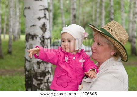 Grandmother And Baby