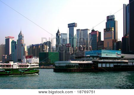 star ferry to kowloon from hong kong island