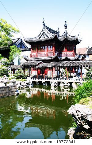 Yuyuan Garden in Shanghai, China