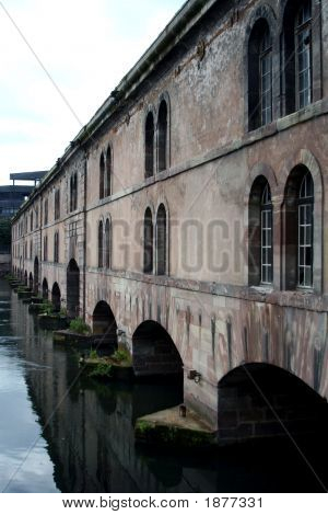 The Barrage Vauban (Vauban Weir), Strasbourg, France