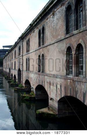The Barrage Vauban (Vauban Weir), Strasbourg, France