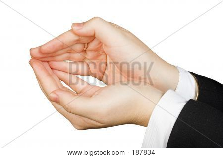 Business Hands Of Protection 2