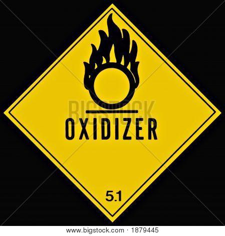 Oxidizer Sign