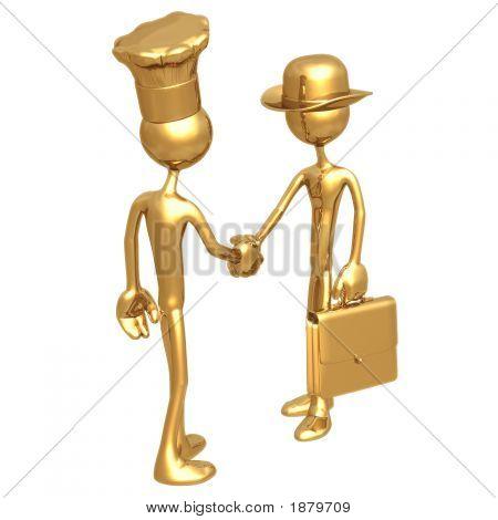 Golden Chef Baker Business Deal
