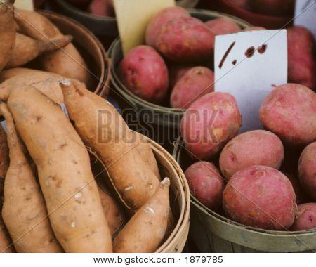 Baskets Of Potatoes