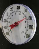 Outdoor Thermometer poster