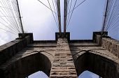 image of brooklyn bridge  - The Brooklyn Bridge - JPG