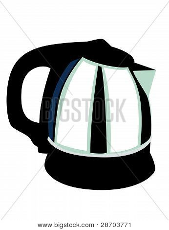 Coffee Pot Illustration