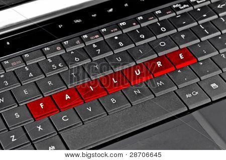 Falla teclado ordenador