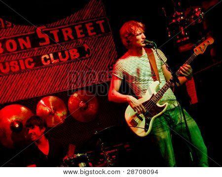 Marco Cinelli Trio live at Bourbon Street Music club
