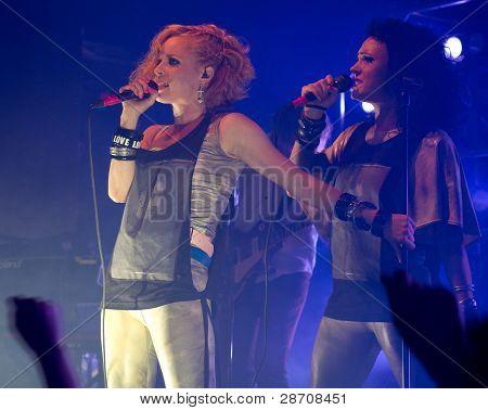Finnish pop rock band PMMP