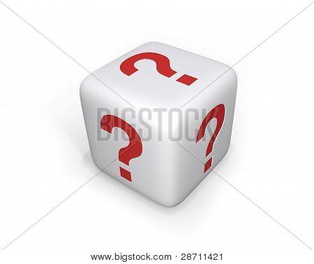 Question Mark Dice - XL