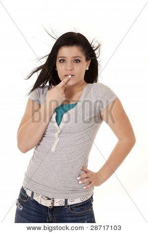 Crying Teen Sad Wind