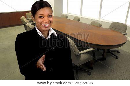 Sala de juntas de oficina