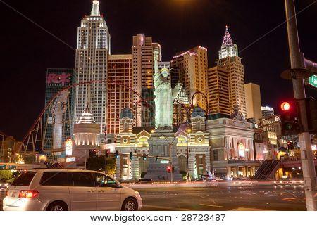 Las Vegas, Nv -  April 10: New York-new York Hotel On April 10, 2011 In Las Vegas, Nevada. Its Owner