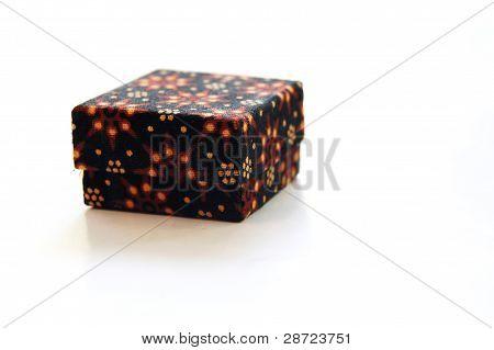 small batik box