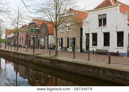Harbor Of Nieuwpoort, An Old Dutch City