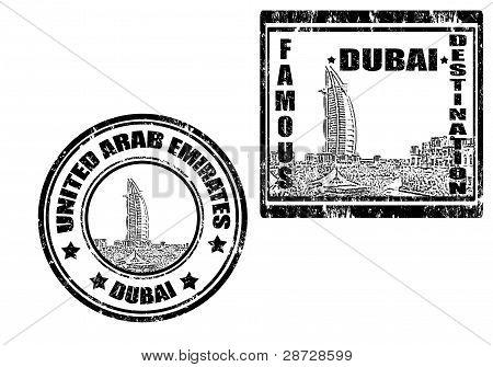 Dubai Stamp
