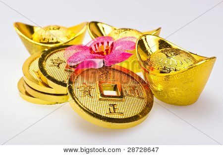 Chinese New Year - Wealth Ornaments Closeup