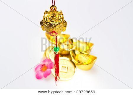 Gong Xi Fa Chai - Hanging Wealth Pot Ii
