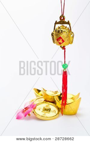 Chinese New Year - Hanging Wealth Pot Ii