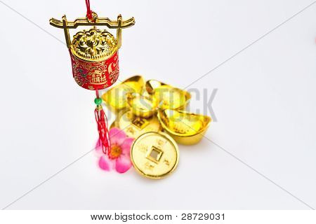 Chinese New Year - Red Wealth Pot