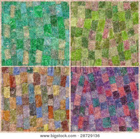 Mohair-Mosaik