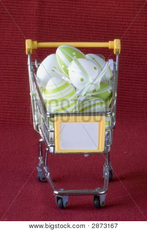 Shopping Cart For Easter