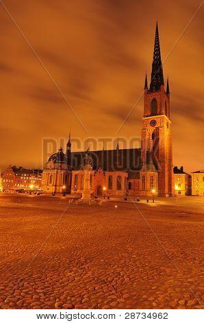Old church in Stockholm
