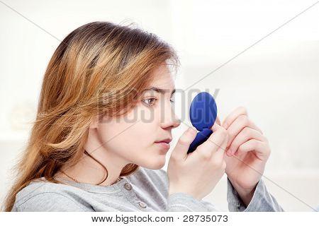 Prüfung der Haut