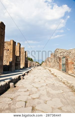 Pompeii - Archaeological Site